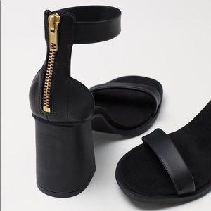 H&M Shoes - H&M Block-heeled Sandals- black